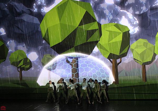 3 Dance show, фото