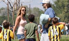 Бритни Спирс провела выходные с бывшим мужем