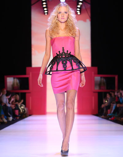 Mercedes-Benz Fashion Week Russia: коллекция Dasha Gauser for Barbie весна-лето 2013