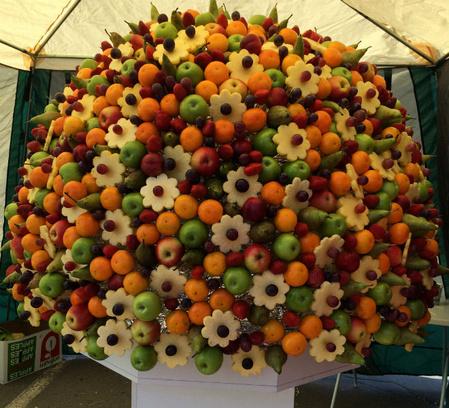фруктовый букет, книга рекордов России