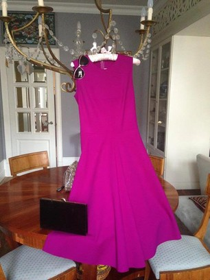 Наряд Елены Сотниковой: платье Yves Saint Laurent