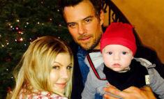 Ферги показала рождественское семейное фото
