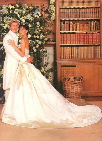Помпезная свадьба обошлась Дэвиду и Виктории в 2 млн. фунтов стерлингов