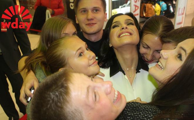 Лена Темникова в Новосибирске