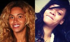 Бейонсе и Рианна: истинные лица