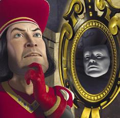 Изобретено говорящее зеркало для худеющих