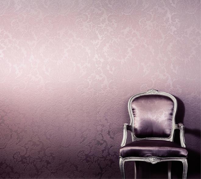 Текстильные покрытия учитывают мировые тренды, потому в последних коллекциях много сложных, необычных цветов. Обои Pura Seta (Giardini)
