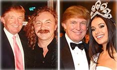 Российские звезды хвастаются знакомством с Трампом