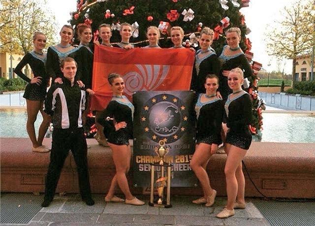Челябинская команда Star Light победила на кубке Европы по черлидингу