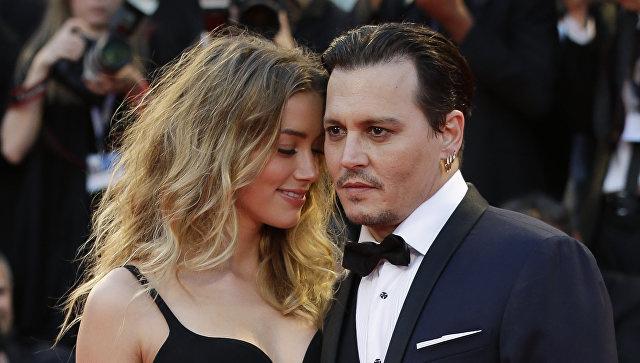 Джонни Депп (Johnny Depp) и Эмбер Херд (Amber Heard)