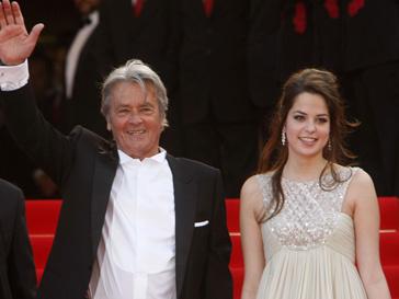Ален Делон (Alain Delon) с дочерью