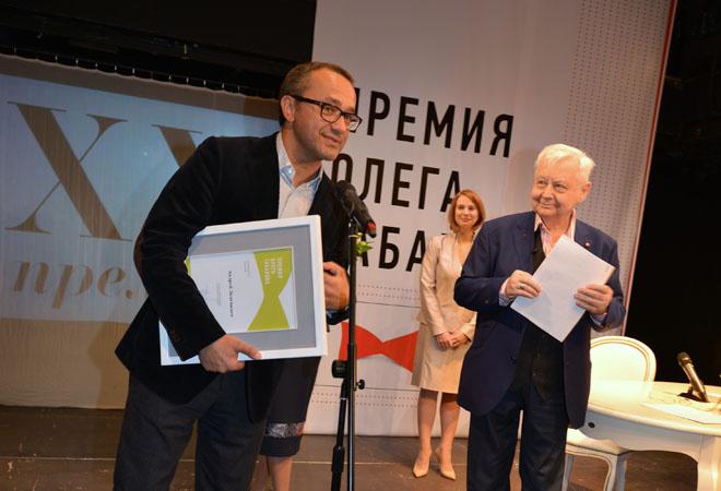 Андрей Звягинцев и Олег Табаков: фото