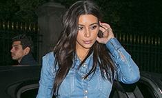 Ким Кардашьян надела «канадский смокинг»