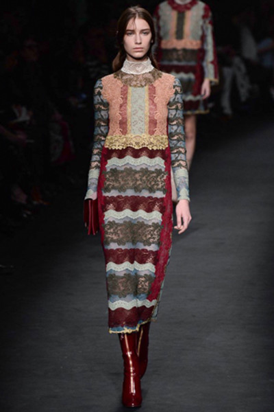 Неделя моды в Париже: показ Valentino ready-to-wear осень — зима 2015-2016 | галерея [1] фото [39]
