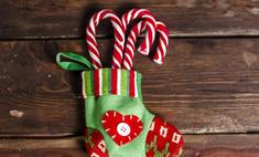 Шьем новогодний сапожок для подарков