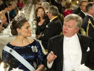 Вручение Нобелевских премий-2011