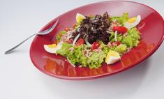 Рецепты салатов из молодой черемши и свежих овощей