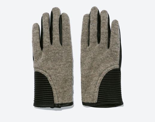 Перчатки Zara, 1499 руб.