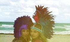 Новый год-2012 на пляже: лучшие наряды