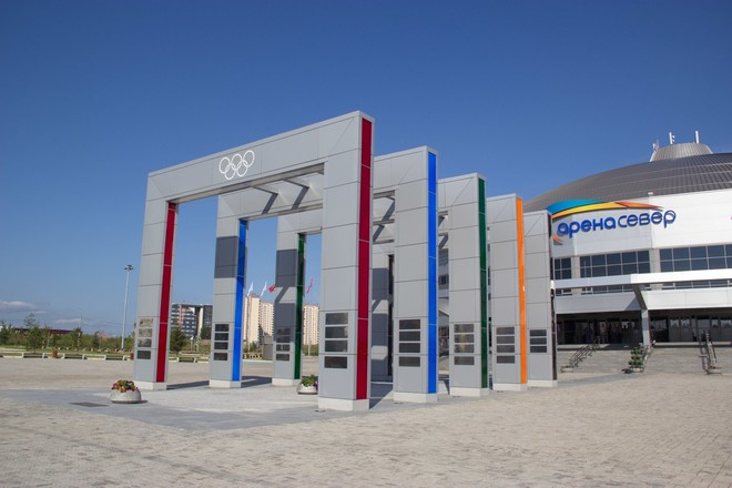 Аллея олимпийской славы в Красноярске