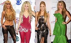 Королева безвкусицы: 25 ужасных нарядов Шакиры