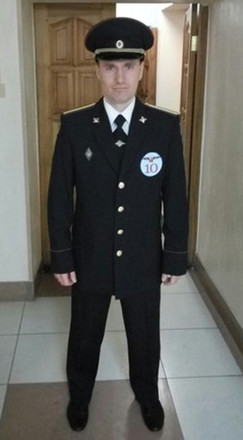 Сергей Муштаев, полицейский, фото