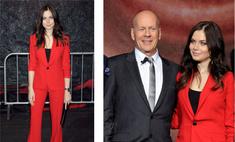 Леди в красном: Юлия Снигирь на вечеринке с Брюсом Уиллисом