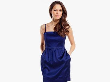 Лаконичное коктейльное платье - выбор звезд для празднования Нового года