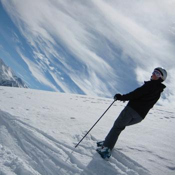 «Здравствуй небо, Альпы, облака», - спела бы Земфира, оказавшись в одном из самых красивых мест на земле.