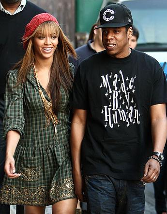 Бейонсе (Beyonce) и Джей-Зи (Jay-Z)