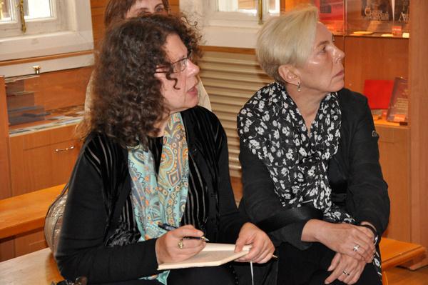 Александра Маринина собирала в Ульяновске материалы для новой книги
