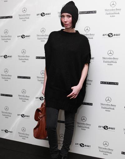 Мария Железнякова на Mercedes-Benz Fashion Week Russia