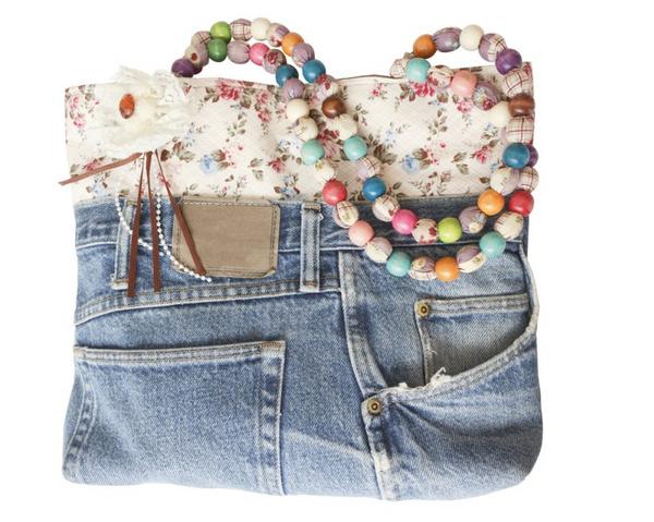 Сделать сумку из джинсов самостоятельно