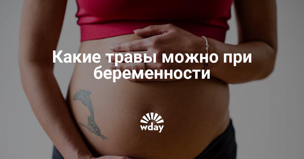 Каких трав нельзя беременным 33