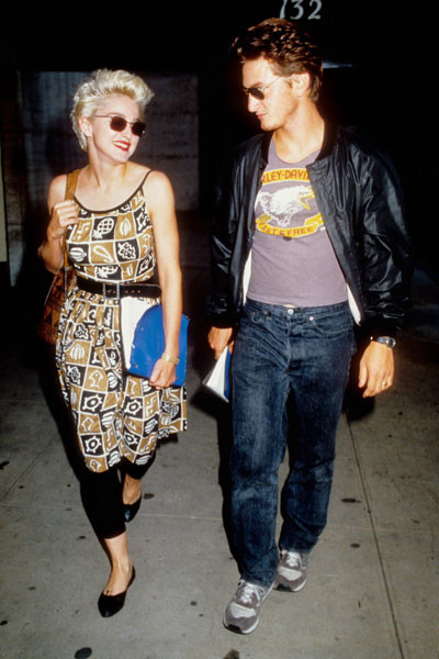 Мадонна и Шон Пенн, 1986 год