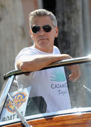 Джордж Клуни на Венецианском кинофестивале