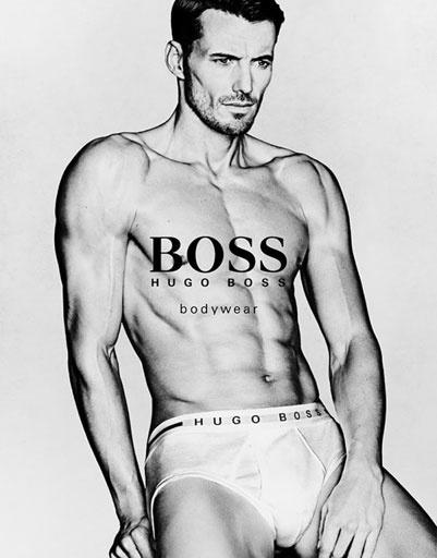 Рекламная кампания нижнего белья Hugo Boss весна-лето 2013
