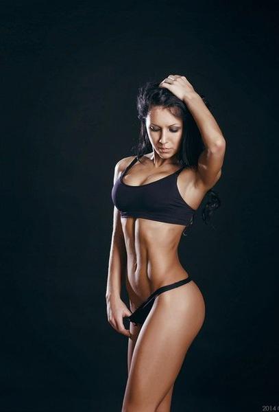 Анна Сулименко, фитнес-бикини модель, г. Красноярск