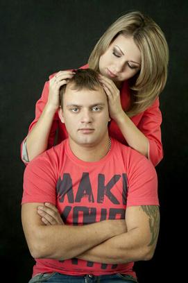 Анастасия Черноиванова и Олег Исаев