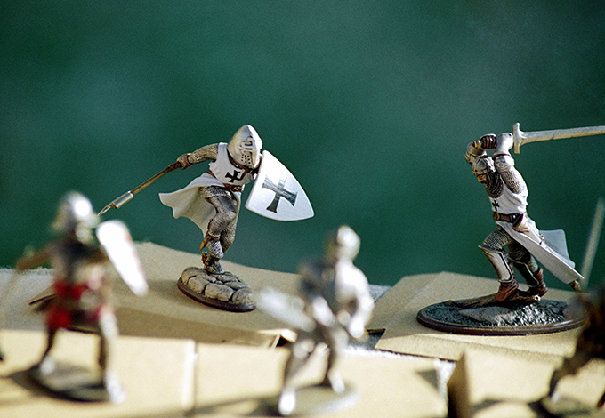 Сражение рыцарей