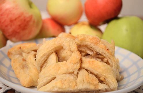 Яблочная плетенка