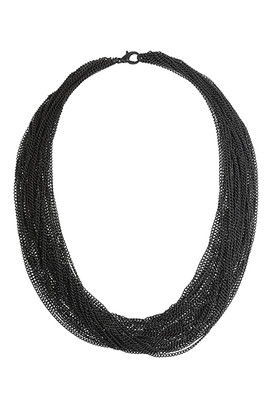 Ожерелье из цепочек Topshop
