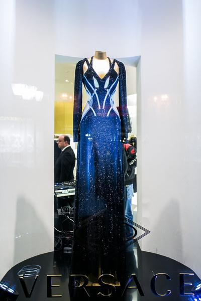 Селебрити на презентации осенней коллекции Versace   галерея [1] фото [12]