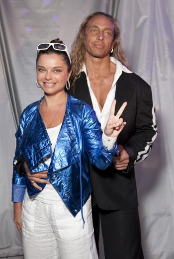 Наташа Королева и ее супруг Сергей Глушко