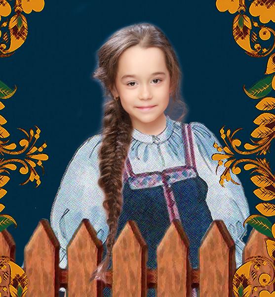 Ульяна Бочкарева, «Уральская краса – русская коса», фото