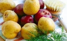 Сохраняем картофель очищенным