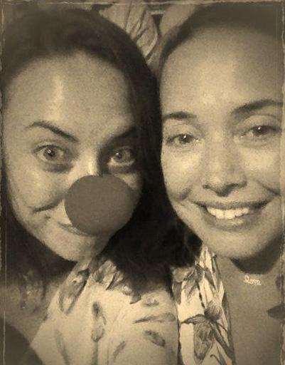 Жанна Фриске с сестрой Наташей