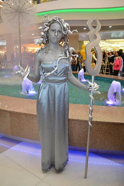 живые статуи в Иркутске