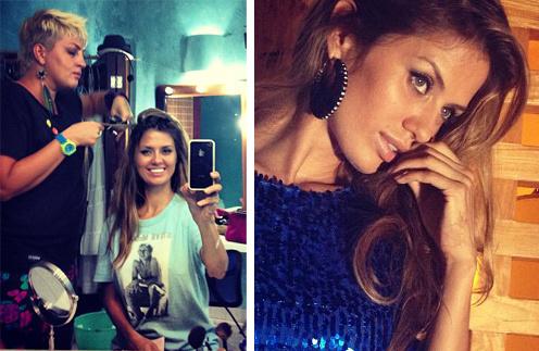 Виктория Боня ведет видео-блог