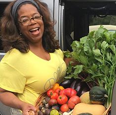 Опра Уинфри похудела на 28 килограммов, считая калории